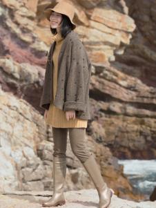 ZOLLE因为女装森女范文艺外套