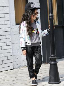 西瓜王子女童新款外套