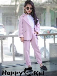 小嗨皮女童小西服