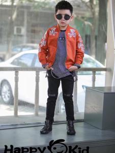 小嗨皮男童时尚外套