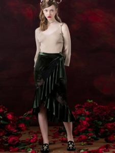 衣佰芬女装半裙17新款