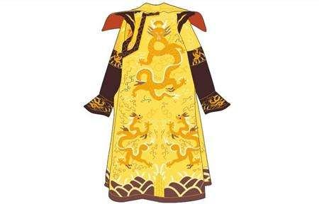 清代皇帝的龙袍