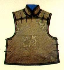 清代马褂—琵琶襟