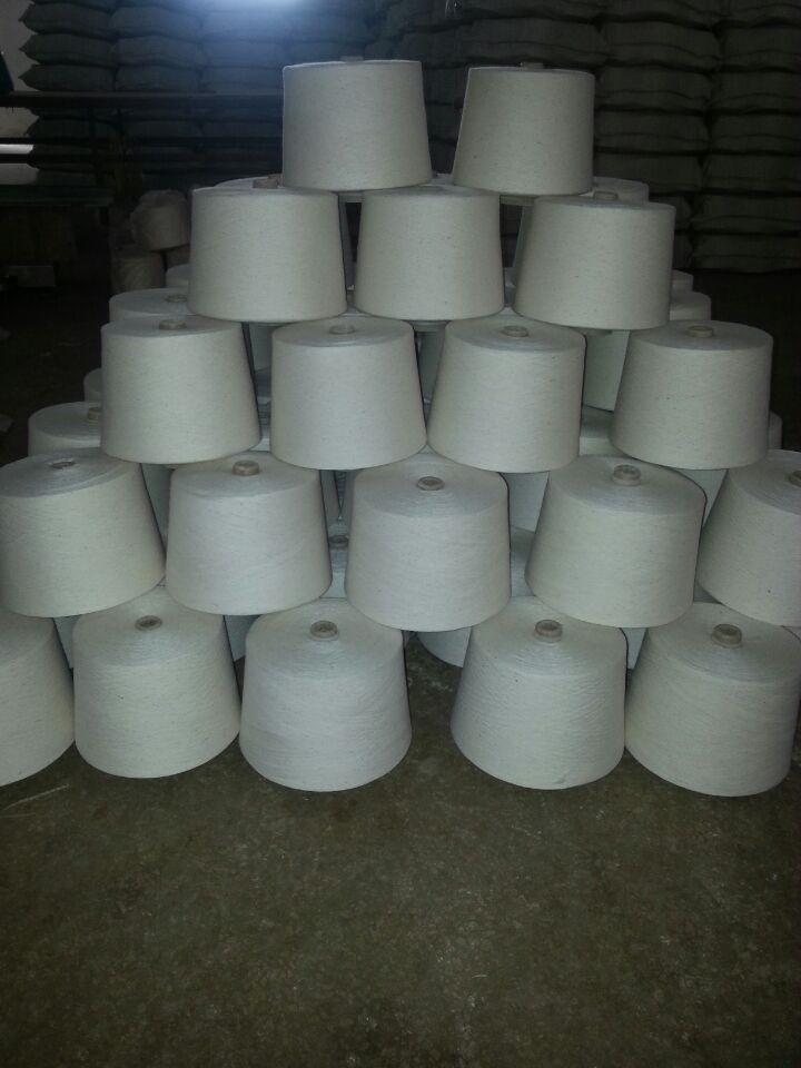 晴棉纱40s/1腈纶棉混纺纱55/45配比