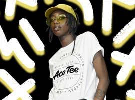 H&M与艺术家Ace Tee合作的胶囊系列推时尚大片
