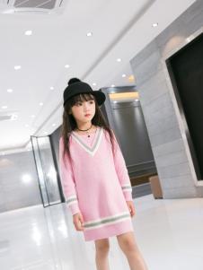 Carlfit卡儿菲特新款粉色毛衫