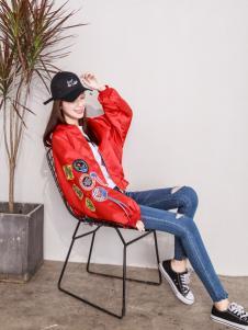 百变伊伊女装韩版外套17新款