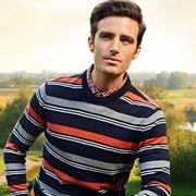 添多利 入秋时尚穿搭,针织衫让你自带男神范!