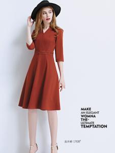 艾米女装连衣裙17新款