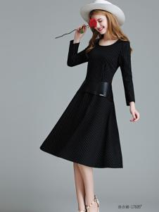 艾米女装修身连衣裙