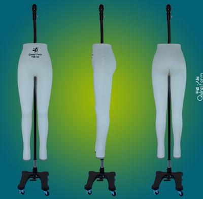 新国标裤装立裁人台,女裤裁剪道具