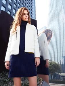 丹比奴2017新款白色外套