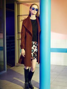 莎斯莱思女装秋冬新款大衣