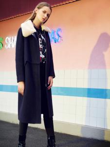 莎斯莱思女装秋冬新款风衣