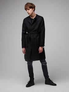 唐束男装中长款外套