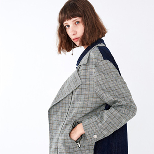 欧美气质时尚经典布莎卡女装、高效益