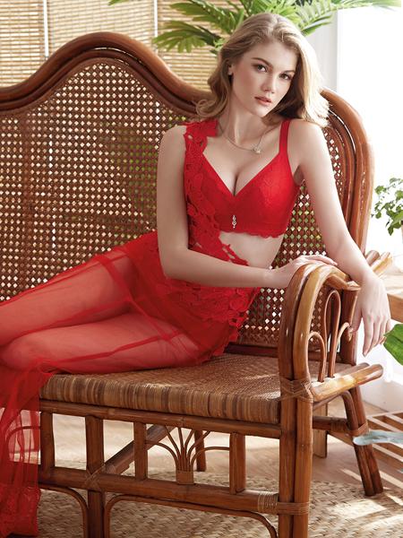 爱戴内衣红色系列