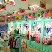 热烈庆祝王女士的芭乐兔童装加盟店开业大卖