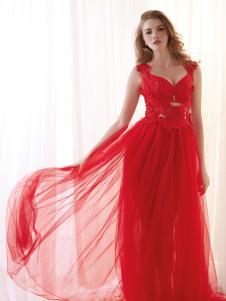 爱戴内衣新娘红色系列