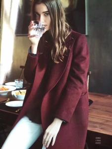 衣魅人大衣2017新款
