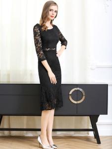 2017卡尔诺新款连衣裙