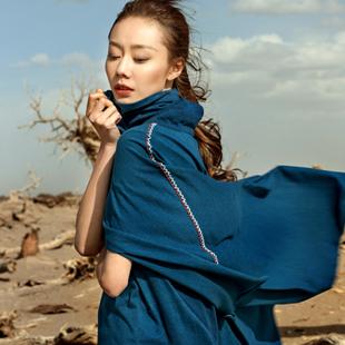 民族刺绣设计师范文艺女装加盟 ANOKHI阿洛琪给予你想要的时尚、个性、品味
