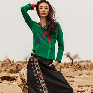 阿洛琪ANOKHI波西米亚民族特色女装  来自潮流设计师的匠心独运!