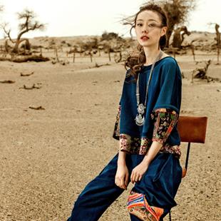 轻波西米亚风时尚女装印巴文化联营招商,公司铺货并解决库存!