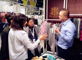 2017年中国纺织品服装贸易展览会(巴黎)启幕