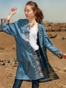 印巴文化精美刺绣外套