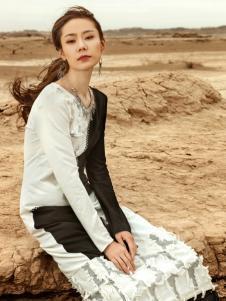 印巴文化个性连衣裙
