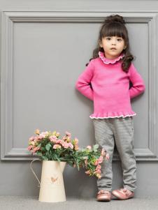 皇后婴儿女童针织毛衣