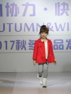 皇后婴儿女童红色外套
