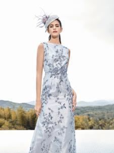 尚约女装2017年秋冬新款连衣裙