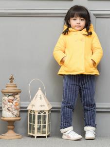 皇后婴儿女童棉衣17新款