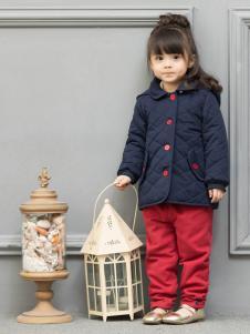 皇后婴儿童装女童棉衣