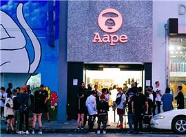 不甘心做小弟?AAPE将门店开到了美国