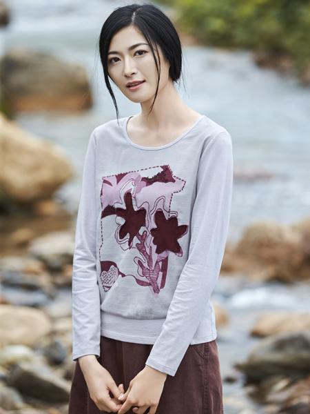 丽比多女装2017秋冬新款T恤