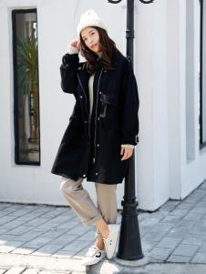 百变伊伊女装2017新款大衣