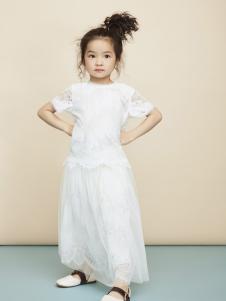 Miidiitapir小食梦兽2017新款白色连衣裙
