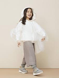 Miidiitapir小食梦兽2017新款白色外套