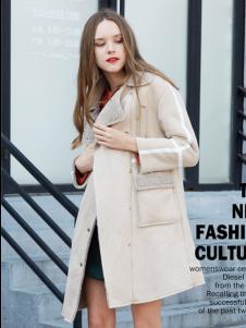 2017芝麻E柜女装新款大衣