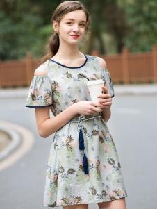 2017芝麻E柜女装新款连衣裙