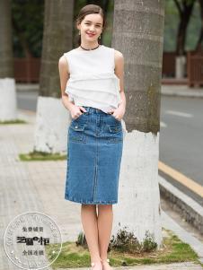 2017芝麻E柜女装新款无袖T恤