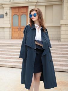 欧米媞女装新款风衣