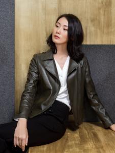 ECA女装17皮衣外套