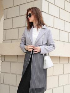 欧米媞女装新款大衣