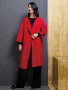 ECA女装17气质大衣