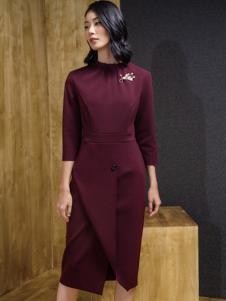 ECA女装气质连衣裙