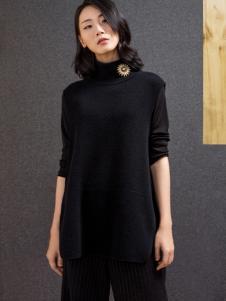 ECA女装黑色通勤套装